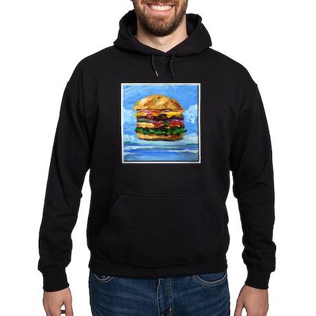 Cheeseburger in the Tropics Hoodie (dark)