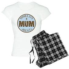 World's Best Mum Pajamas
