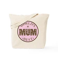 World's Best Mum Tote Bag