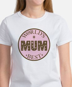 World's Best Mum Women's T-Shirt
