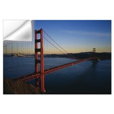 Bridge across the sea, Golden Gate Bridge, San Fra Wall Decal
