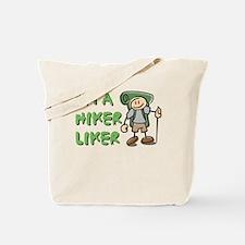 I'm a Hiker Liker - Boy Tote Bag