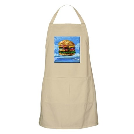 Cheeseburger in the Tropics Apron