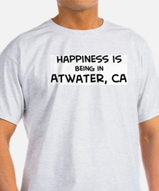 Atwater - Happiness Ash Grey T-Shirt