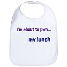 About to pwn... lunch bib