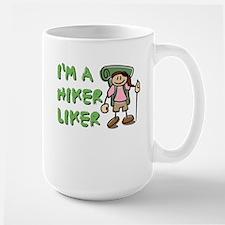 I'm a Hiker Liker - Girl Mug