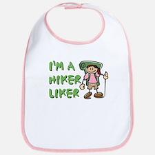 I'm a Hiker Liker - Girl Bib