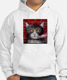 Billy the Pool-Playing Cat Hoodie
