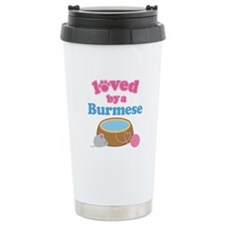 Loved By A Burmese Travel Mug