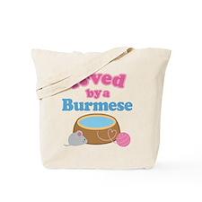 Loved By A Burmese Tote Bag