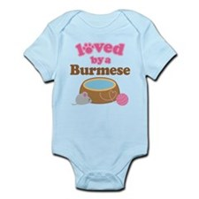 Loved By Abyssinian Cat Infant Bodysuit