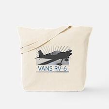 Aircraft Vans RV-6 Tote Bag
