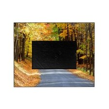 Autumn Road Photograph Picture Frame