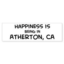 Atherton - Happiness Bumper Bumper Sticker