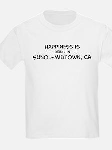 Sunol-Midtown - Happiness Kids T-Shirt