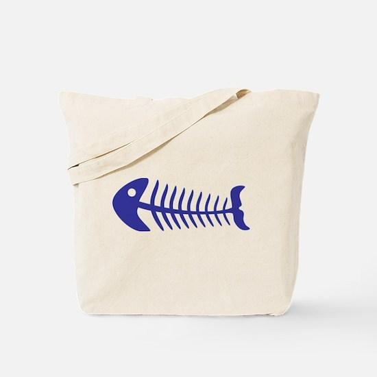 Fish bone Tote Bag