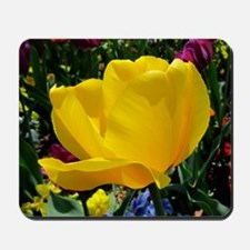 Yellow Tulip Mousepad
