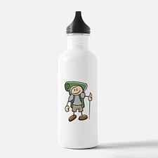 Happy Hiker Boy Water Bottle