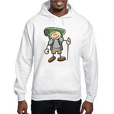 Happy Hiker Boy Hoodie