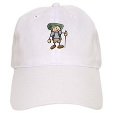 Happy Hiker Boy Baseball Baseball Cap