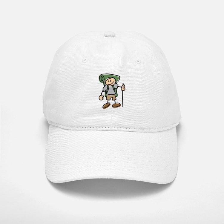 Happy Hiker Boy Baseball Baseball Cap