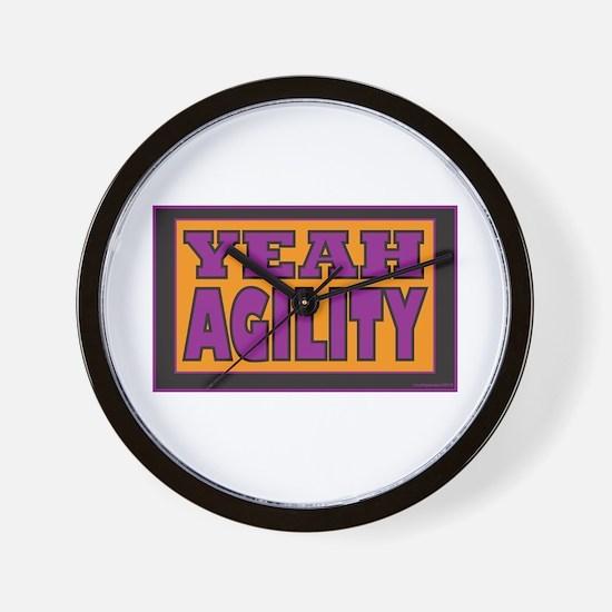 YEAH Agility Wall Clock