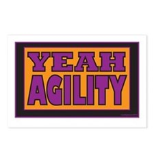 YEAH Agility Postcards (Package of 8)
