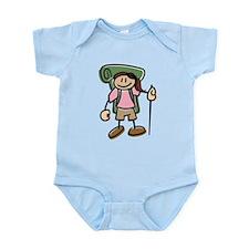 Happy Hiker Girl Infant Bodysuit