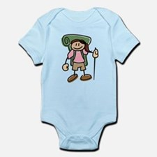 Happy Hiker Girl Infant Bodysuit