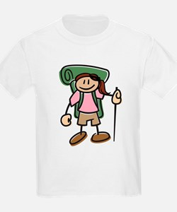 Happy Hiker Girl T-Shirt