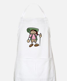 Happy Hiker Girl Apron