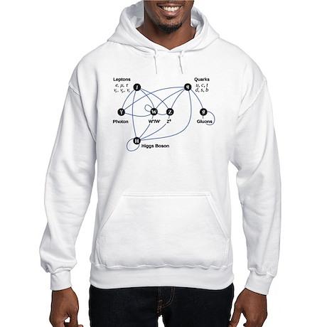 Higgs Boson Diagram Hooded Sweatshirt