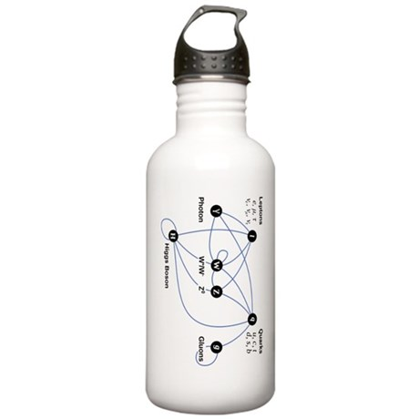Higgs Boson Diagram Stainless Water Bottle 1.0L