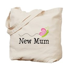 New Mum Butterfly Tote Bag