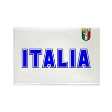 Italia Team Rectangle Magnet
