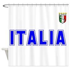 Italia Team Shower Curtain