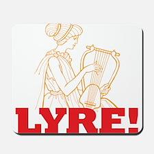 Lyre Mousepad