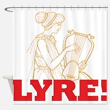 Lyre Shower Curtain