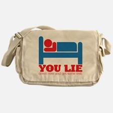 You Lie Messenger Bag