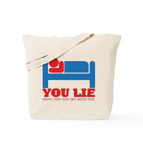 You Lie Tote Bag