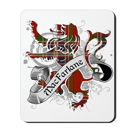 MacFarlane Tartan Lion Mousepad