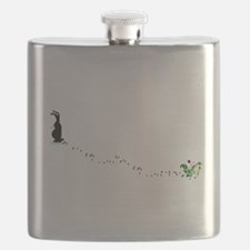 Bad Bad Rabbit Flask