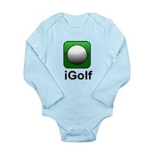 iGolf (Ball) Long Sleeve Infant Bodysuit
