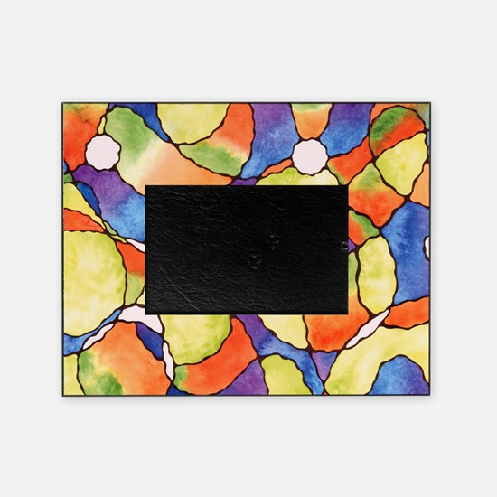 Carnival Balloons Abstract Picture Frame