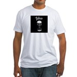 Taboo Skull Fitted T-Shirt