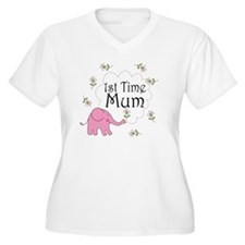 1st Time Mum Cute T-Shirt