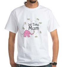 1st Time Mum Cute Shirt