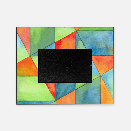 Color Square Abstract One Picture Frame
