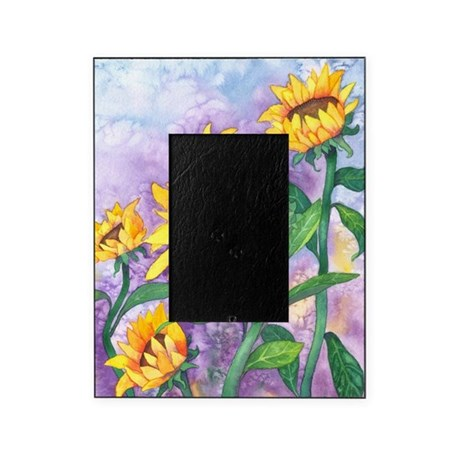 Sunny Sunflowers (Vertical) Picture Frame