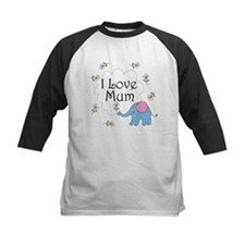I Love Mum Cute Tee